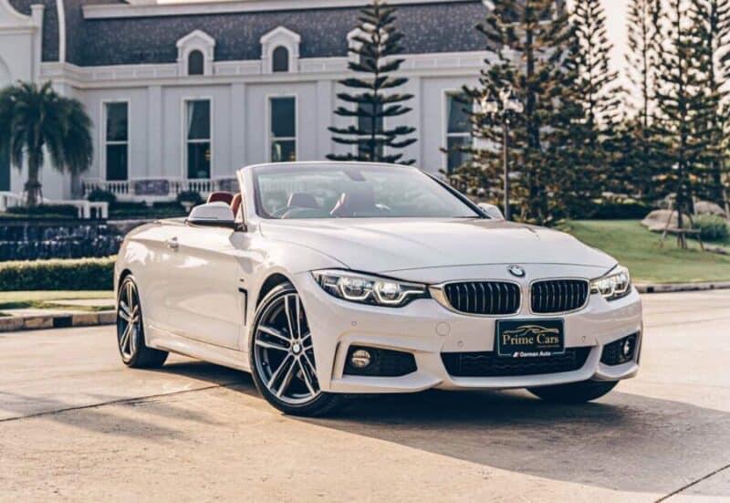 เช่า BMW Series4 รุ่นใหม่ เปิดประทุน