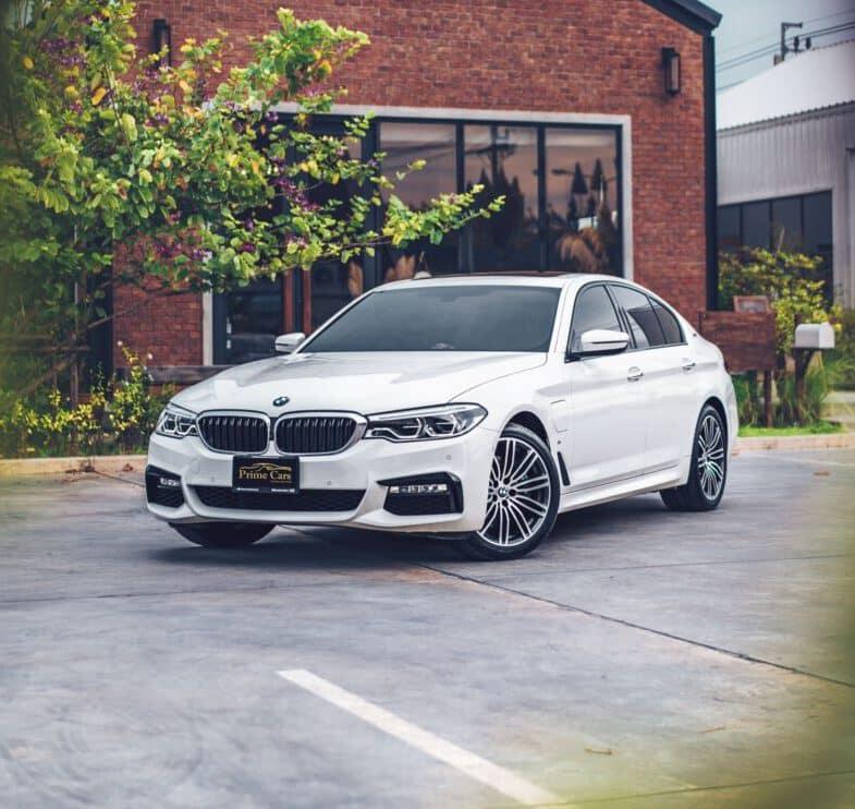 เช่ารถ BMW Series 5 รุ่นใหม่ล่าสุด