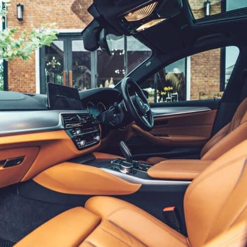 ภายในของ BMW Series 5 ตัวใหม่