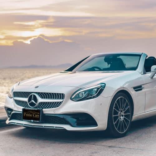 เช่ารถหรู เช่ารถสปอร์ต เช่ารถ Supercar Mercedes-Benz SLC300 AMG