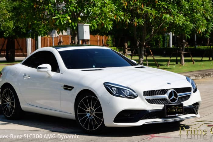 Benz SLC300AMG Dynamic