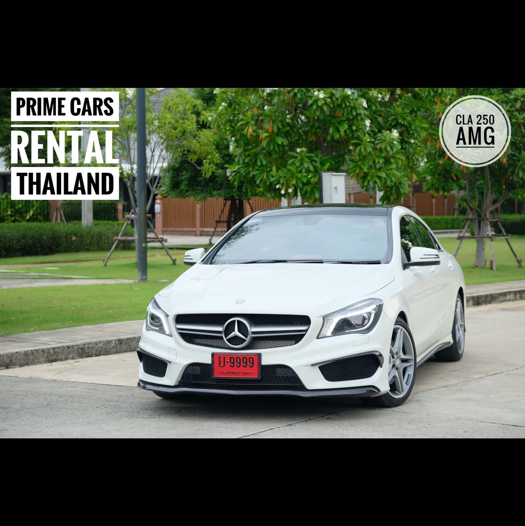 Benz cla250amg prime cars rental for Prime motor cars mercedes benz