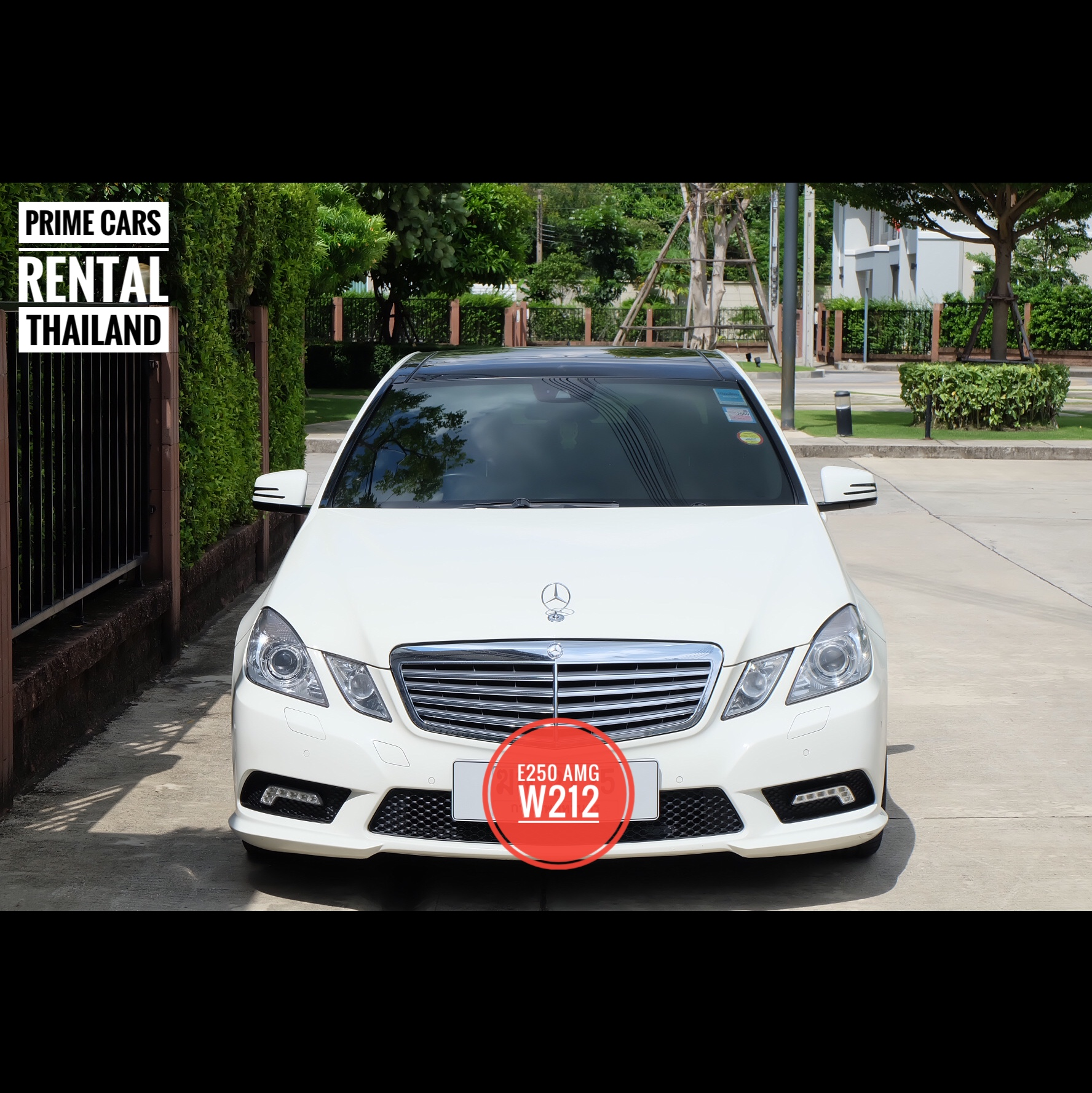 Benz e250 amg prime cars rental for Prime motor cars mercedes benz