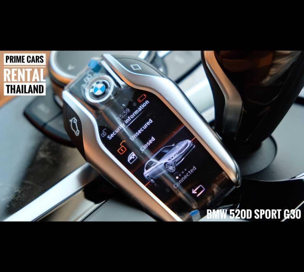 เช่ารถหรู เช่ารถสปอร์ต เช่ารถ Supercar BMW Series 5 G30