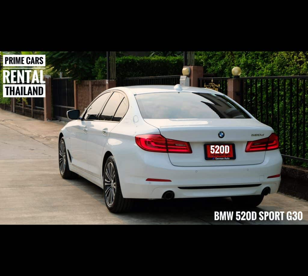 BMW Series5 G30 MY2018