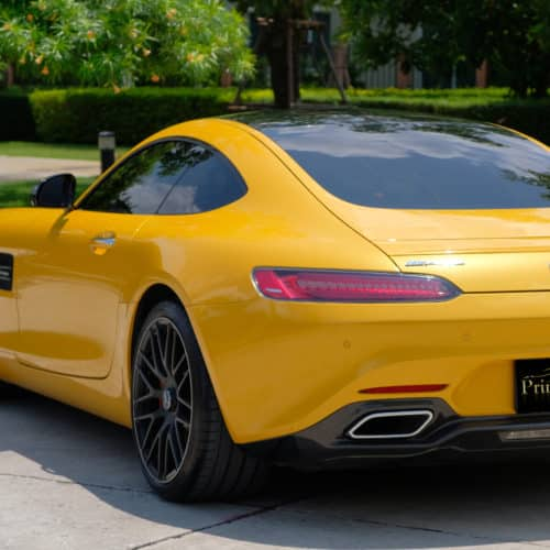 เช่ารถหรู เช่ารถสปอร์ต เช่ารถ Supercar Mercedes AMG GTS