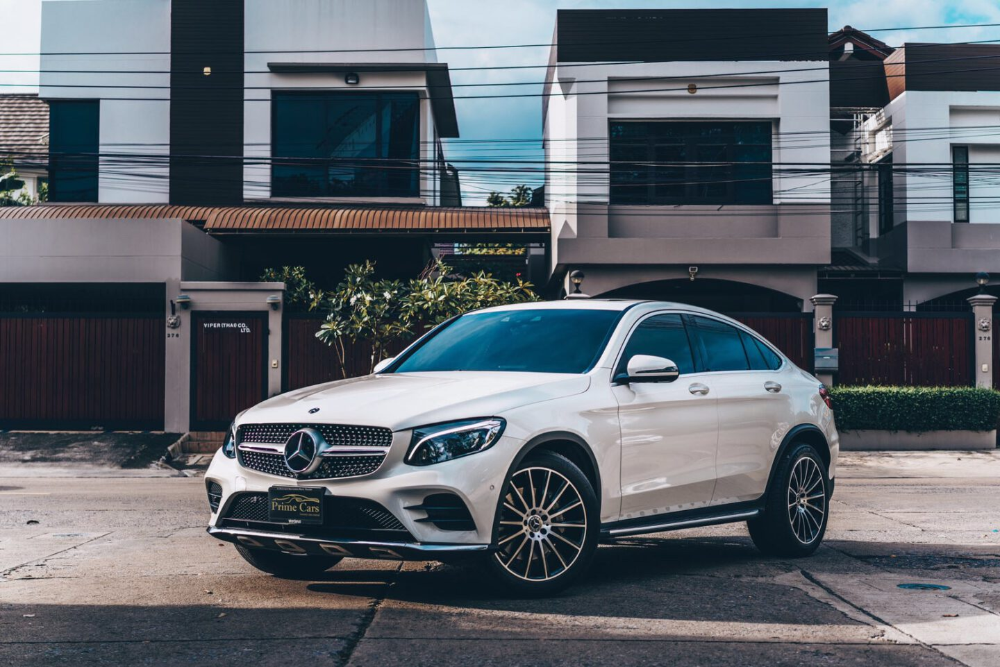 เช่า Benz GLC Coupe
