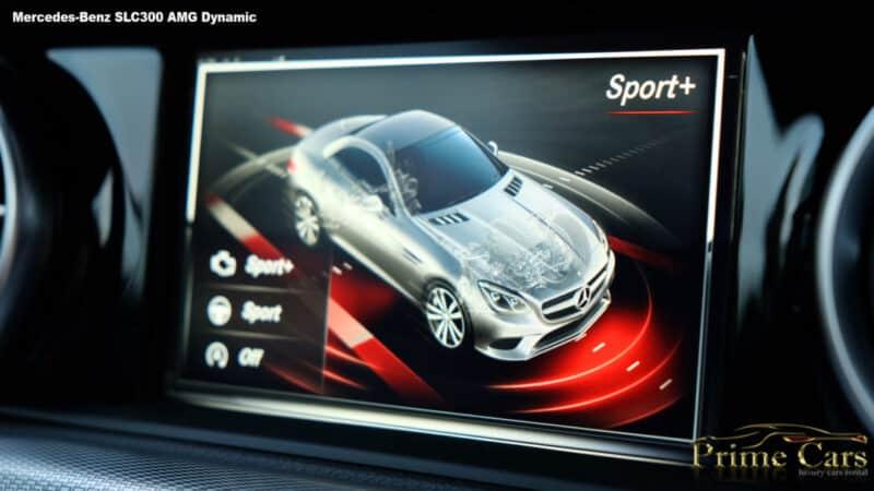 เช่ารถหรู เช่ารถสปอร์ต เช่ารถ Supercars Mercedes SLC300AMG
