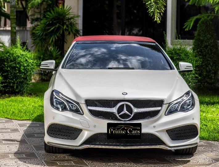 Benz E200 AMG Cabriolet