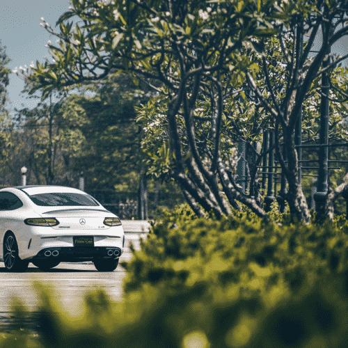 เช่ารถ Benz AMG C43 Coupe