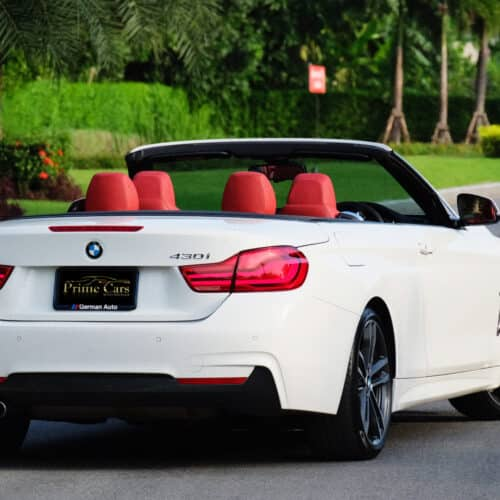 เช่ารถหรู เช่ารถสปอร์ต เช่ารถ Supercar BMW 430i M Sport Convertible F33 LCI ให้เช่า