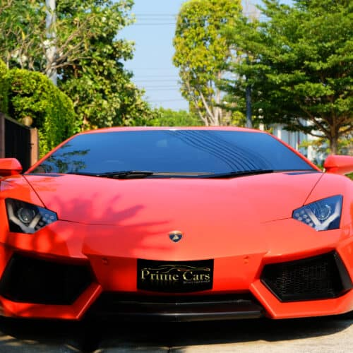 เช่ารถ Lamborghini Aventador