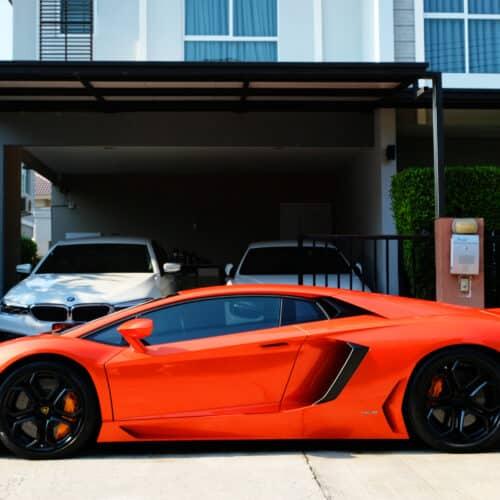 Lamborghini Aventador ราคา