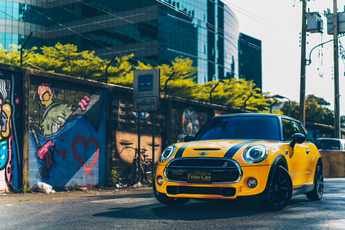 เช่ารถ Mini Cooper S F56 for rent
