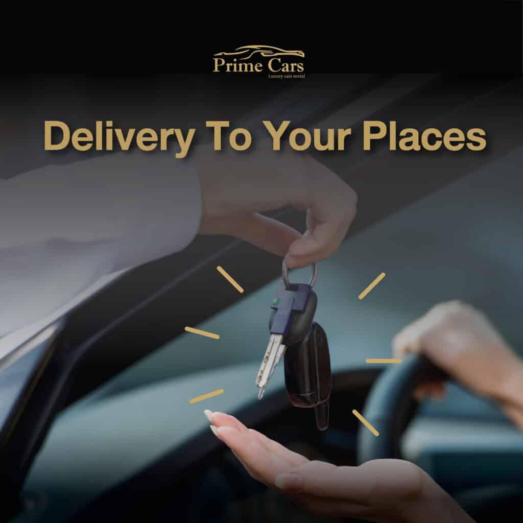 ราคาค่าเช่ารถหรู Luxury Car Rental Delivery at Your Place with free of charge