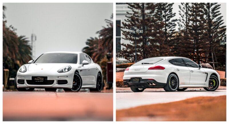เช่ารถ Porsche Panamera S