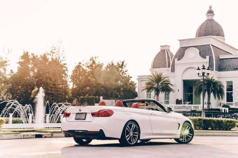 รถหรูสำหรับผู้หญิง BMW Series 4 Convertible