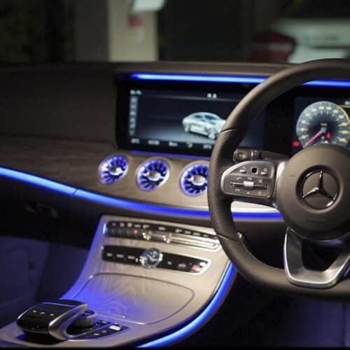 หน้าจอของ Benz CLS รุ่นใหม่