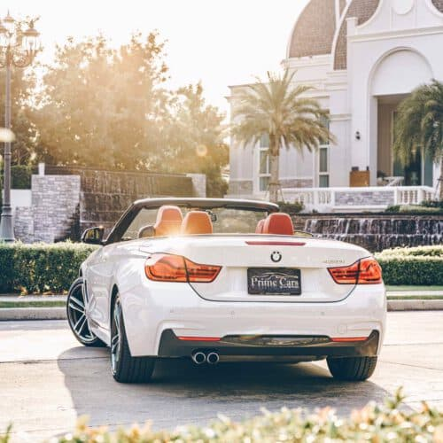 Beauty of BMW 4 Series Convertible LCI