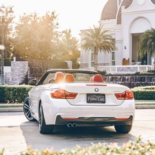 Beauty of BMW 4 Series Convertible LCI