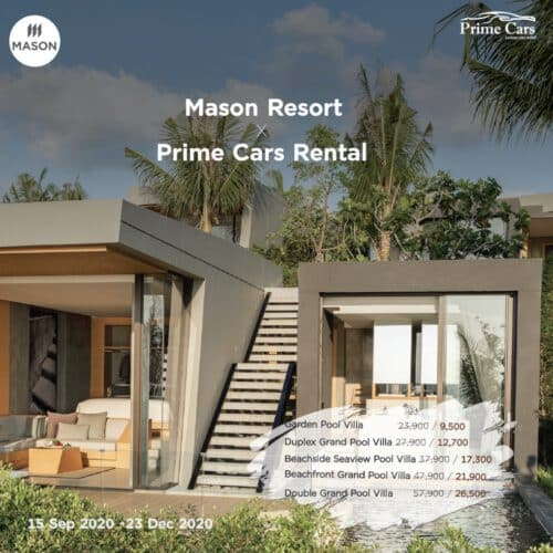 Mason Resort x Prime Cars Rental