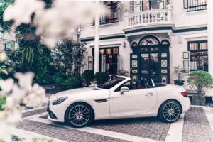 รถเปิดประทุน  Benz - รุ่นล่าสุด