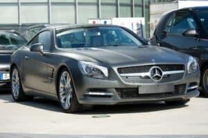 รถเปิดประทุน-Mercedes-benz