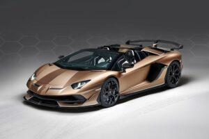 รถหรูตัวท็อป-Lamborghini Aventador SVJ Roadster