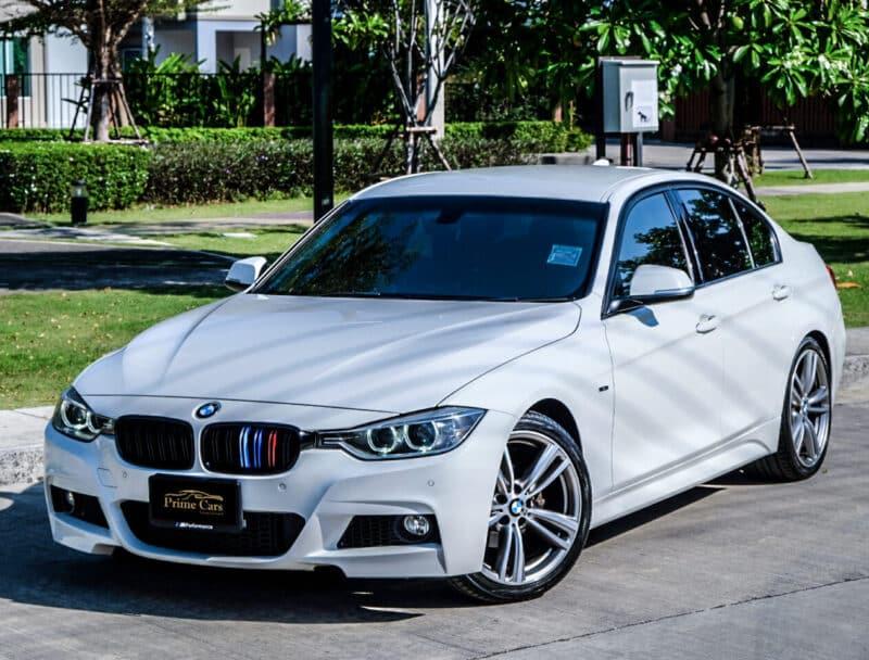 เช่ารถหรูประหยัดน้ำมัน BMW 3 Series F30