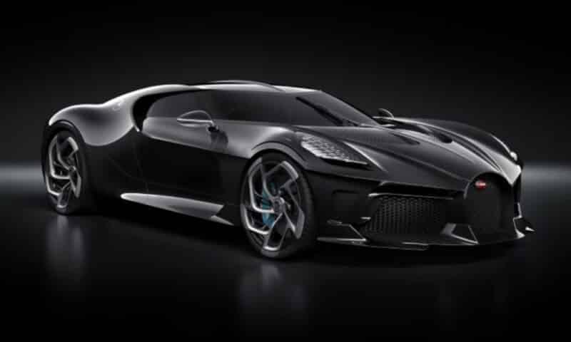 รถหรูราคาแพง Bugatti La Voiture Noire