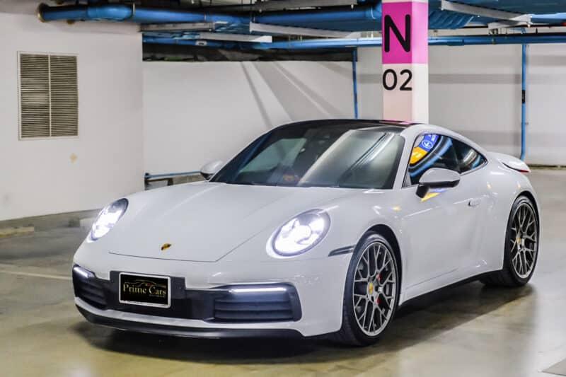 รถหรูราคาแพง Porsche 911 Carrera S 992