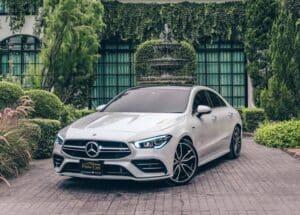 รถยนต์หรูดีไซน์กะทัดรัด-Mercedes AMG CLA35 4Matic