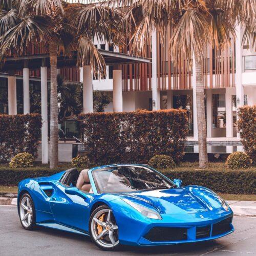 Ferrari 488 spider ให้เช่า