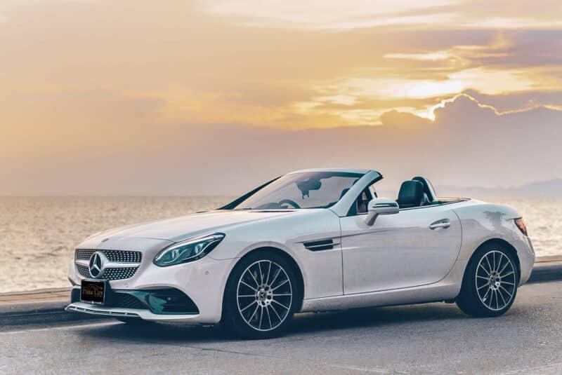 รถหรูเปิดประทุน Benz SLC300