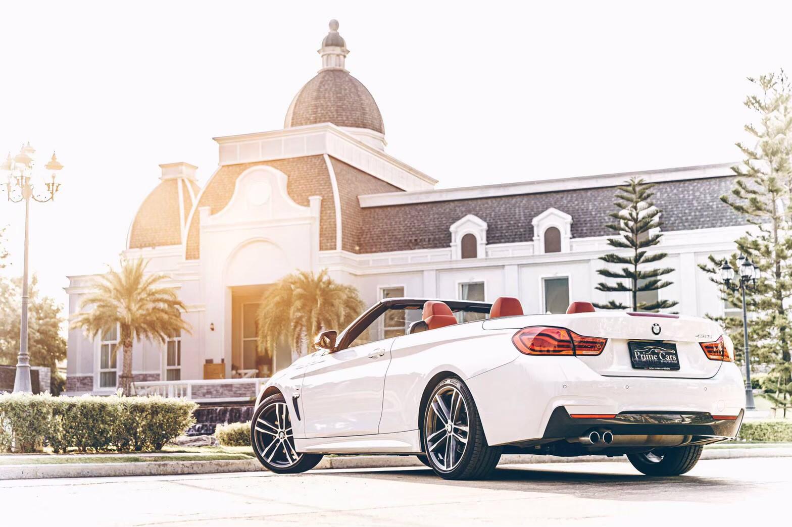เช่ารถหรูเปิดประทุน BMW 430i M Sport Convertible F33 (LCI)