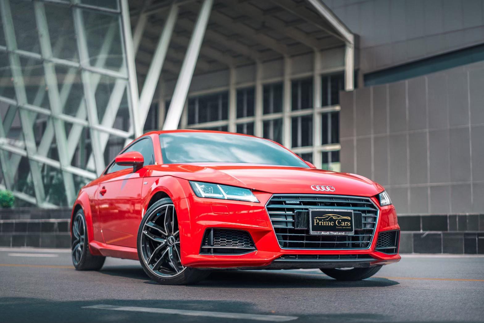 เช่ารถหรูสีแดง Audi TT SLine 45 TFSI Quarttro