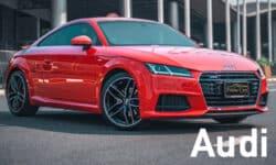 เช่ารถสปอร์ต Audi