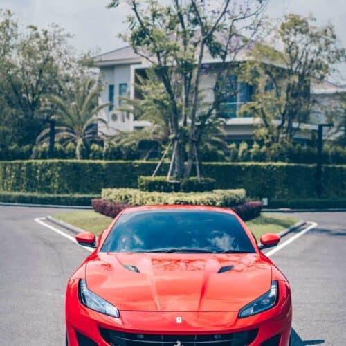 ไฟหน้าดีไซน์ใหม่ของ Ferrari Portofino