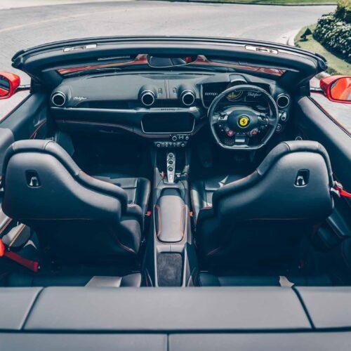 เช่ารถหรู Ferrari Portofino ขับเอง