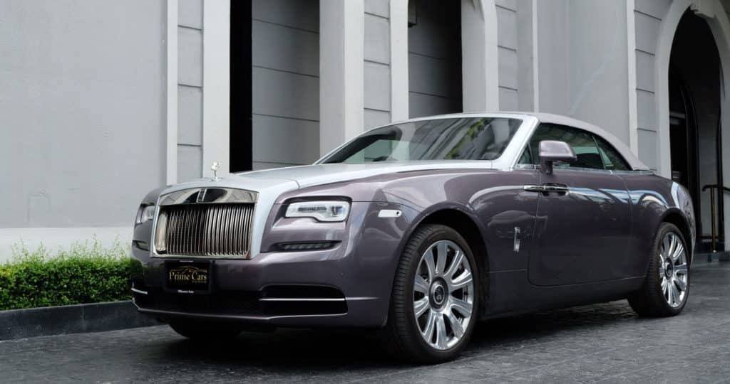 รถ Rolls Royce Dawn