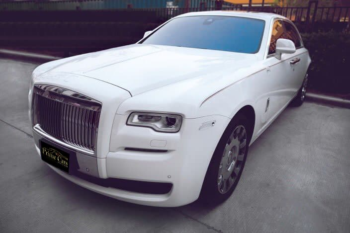 รถ Rolls Royce Ghost