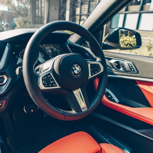 ภายในของ BMW 220i Gran Coupe