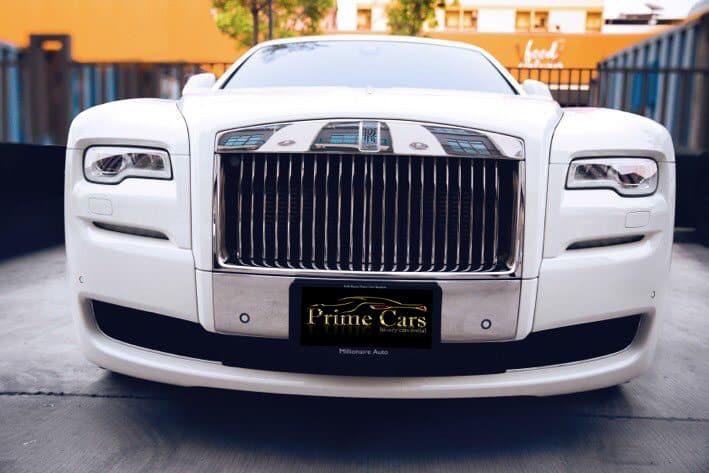 เช่า Rolls Royce Ghost