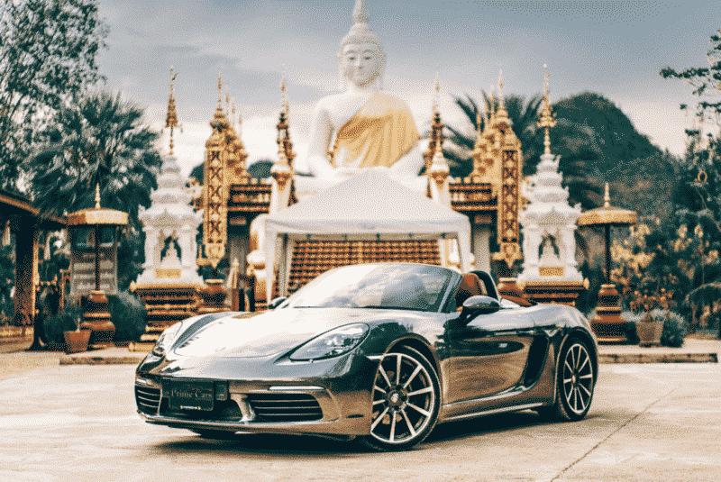 เช่ารถเที่ยว กับ Porsche 718 Boxster