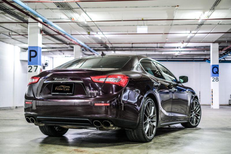 เช่ารถหรู Maserati Ghibli